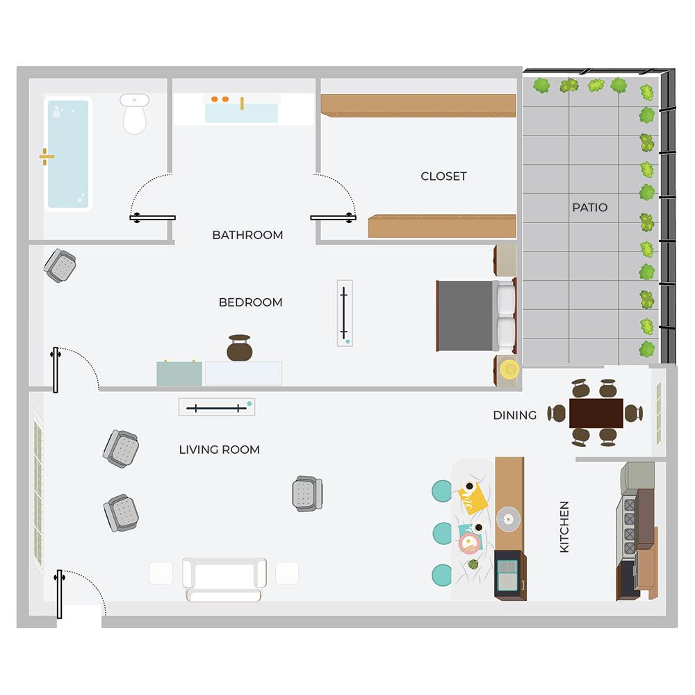 A1-1/1 Apartment