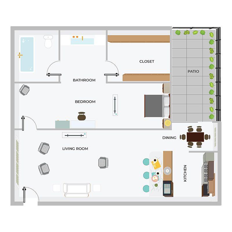 A1 | 1/1 Apartment