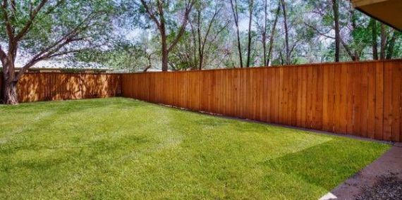 FENCED IN BACKYARDS