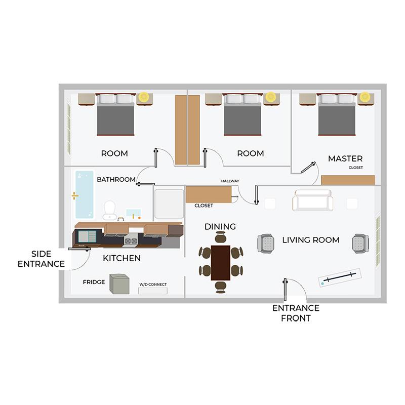 A3 | 3/1 Duplex